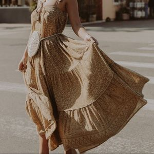 Spell - Wild Thing Strappy Midi Dress
